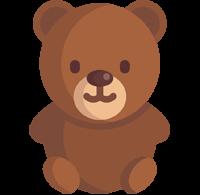 Icon eines Teddybärs zur bildlichen Untermalung der Vorteile der Stellenangebote im Unfallkrankenhaus Berlin (ukb)